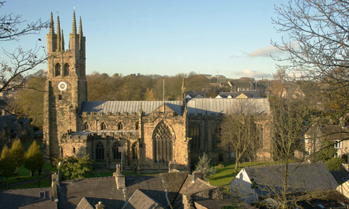 Tideswell Village in the Peak District
